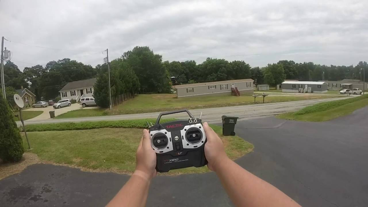Flying my new - Helimax Form 500 - YouTube