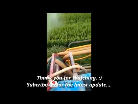 Modern Smart Farming Invention - Spraying method Through Helium balloons