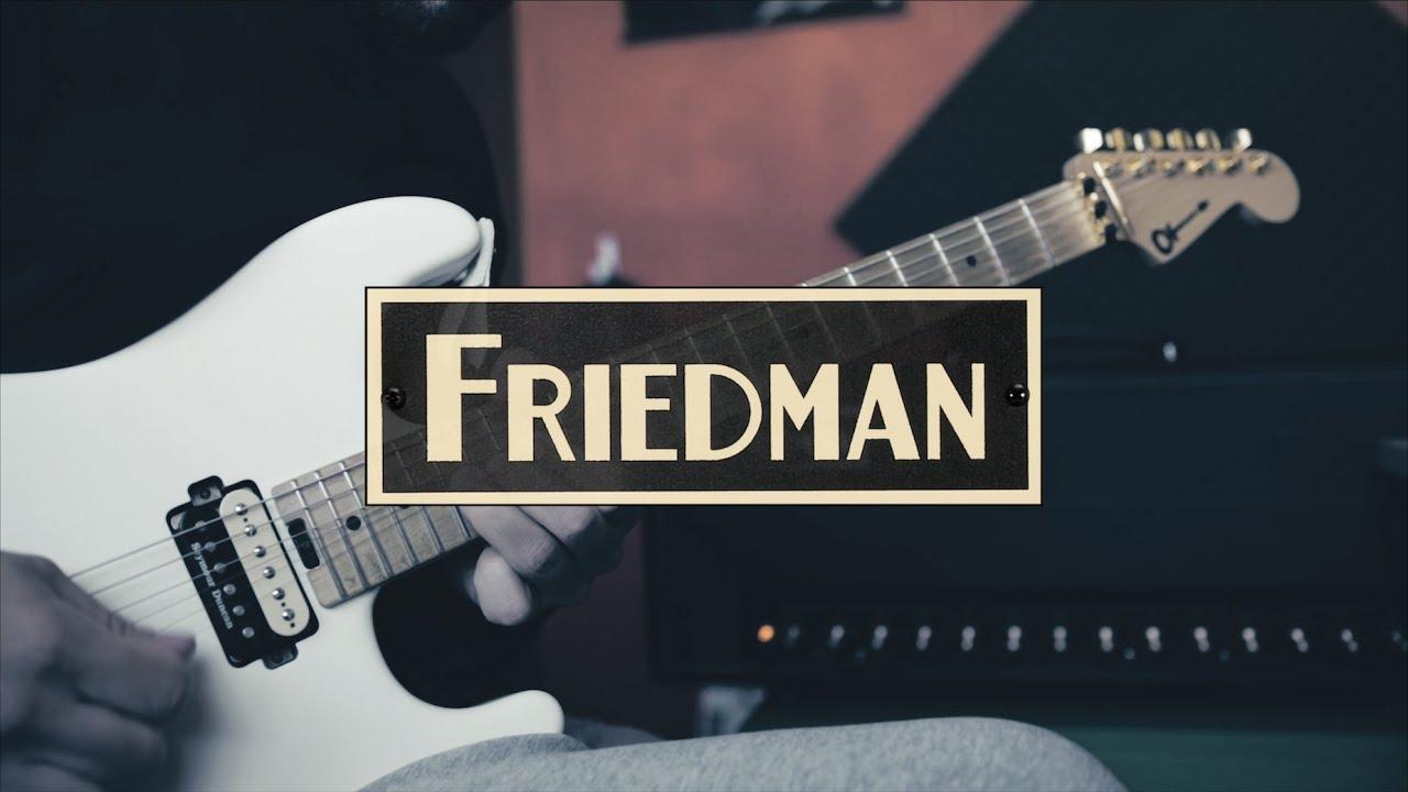 Download 3 minutes of Van Halen riffs w/ Friedman BE-100 Deluxe