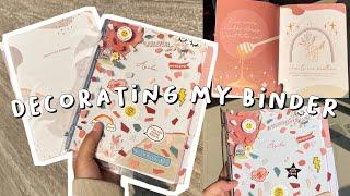 Decorating My Binder | Gratitu…