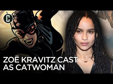 Zoë Kravitz to Play Catwoman in The Batman Opposite Robert Pattinson