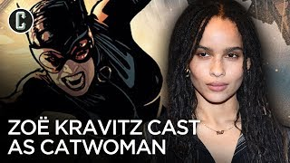 Zoë Kravitz to Play Catwoman in The Batman Opposite Robert Pattinson