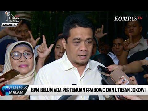 BPN: Belum Ada Pertemuan Prabowo dan Utusan Jokowi