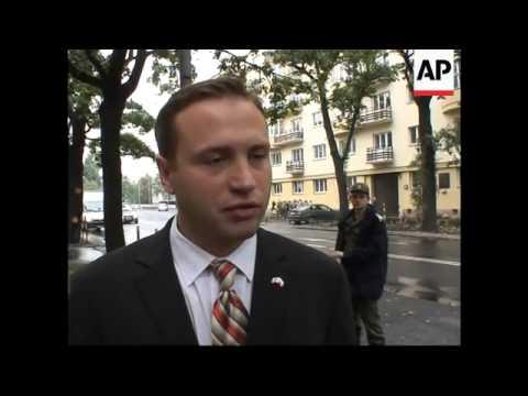 Russian FM Lavrov in Warsaw, meeting FM, presser, reax
