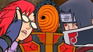 TOBI THE AKATSUKI! | Naruto Shippuden: Dragon Blade Chronicles - Walkthrough Part 2, Gameplay Wii