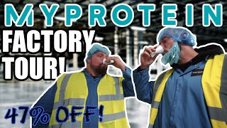 Is MyProtein s***t? | Factory Tour