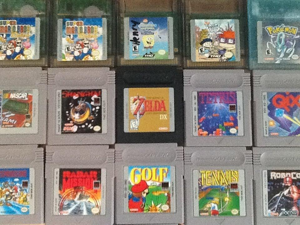 my gameboy games