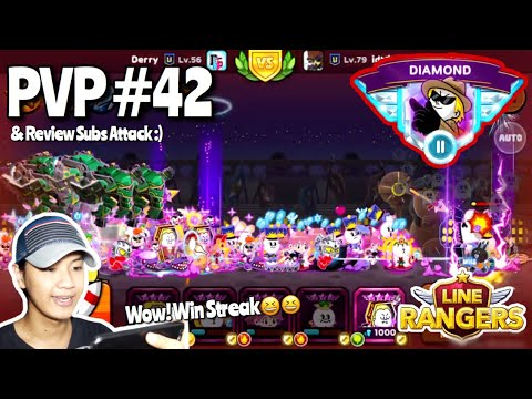 MAIN PVP & REVIEW SUBS BATTLE AGAIN!!! Wkwk | LINE RANGERS INDONESIA