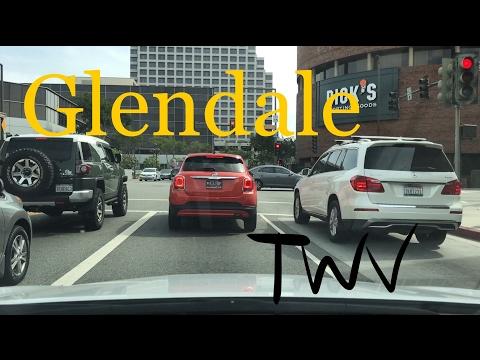 Driving around in Glendale, CA