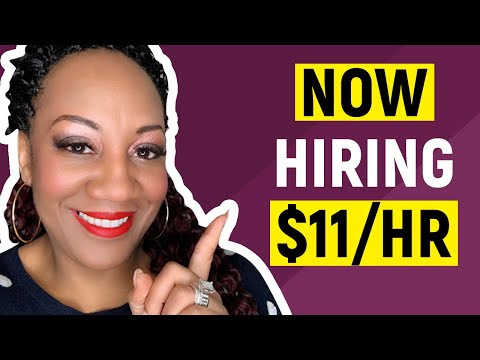 💻 Earn $11 Per Hour! | Online, Remote Work-At-Home Chat Jobs June 2019