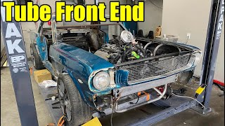 Building A Custom Tube Front End For My Coyote Swapped 1966 Ford Mustang