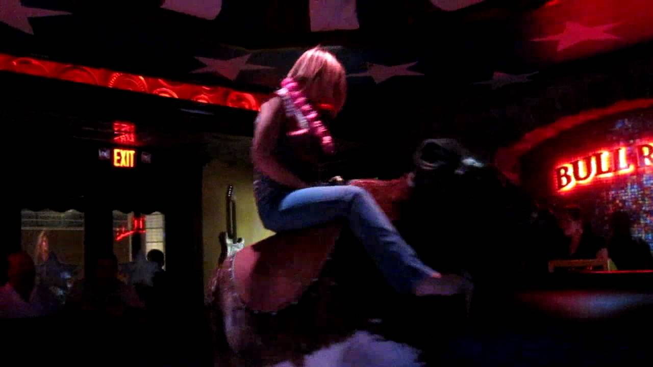 Cadillac Ranch Annapolis Jenny Rides The Bull During Her Bachlorette Party Youtube