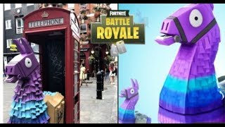 LLAMAS SPOTTED IN EUROPE FORTNITE ITMES IN REAL LIFE