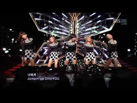 101205  SBS 人氣歌謠 Kara Jumping Kara