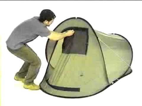 Quick Pitch Tent - 2 Person  sc 1 st  YouTube & Quick Pitch Tent - 2 Person - YouTube