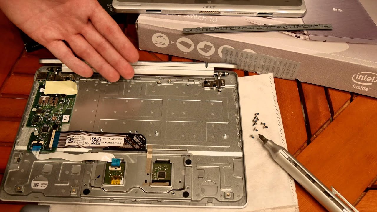 how to replace cd drive with ssd acer aspire