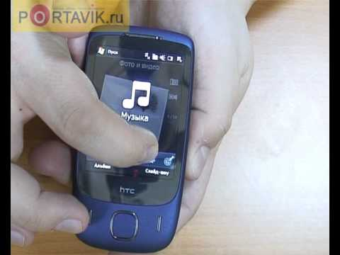 HTC Touch 3G first look rus
