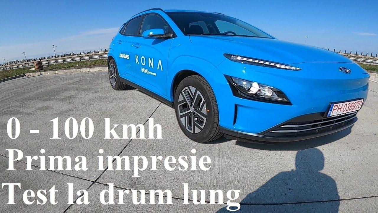 Hyundai Kona Electric 2021 |  64kWh - 204cp | Prima oara intr-o masina electrica