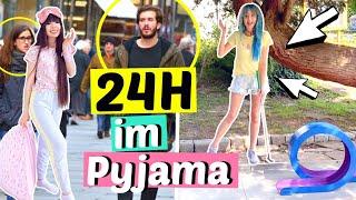 Peinlich!! 24 Stunden im Pyjama raus gehen 🙈| ViktoriaSarina