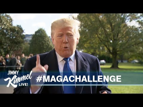 Trump Judging MAGA Rap Competition