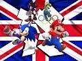 Mario, Sonic, Luigi, Shadow play London 2012 Olympic Games