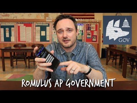 Romulus AP Gov't App - Score That 5!