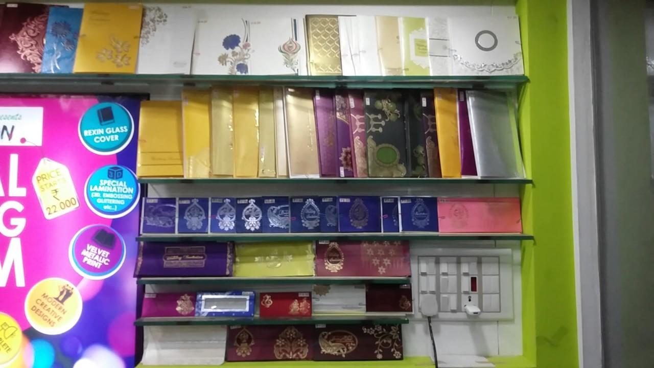 Wedding card shop at trivandrum - YouTube