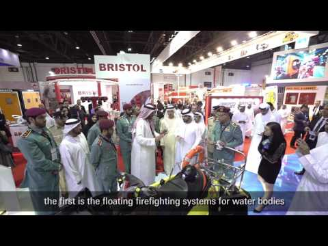 Dubai Civil Defense showcases firefighting and smart services at Intersec 2017