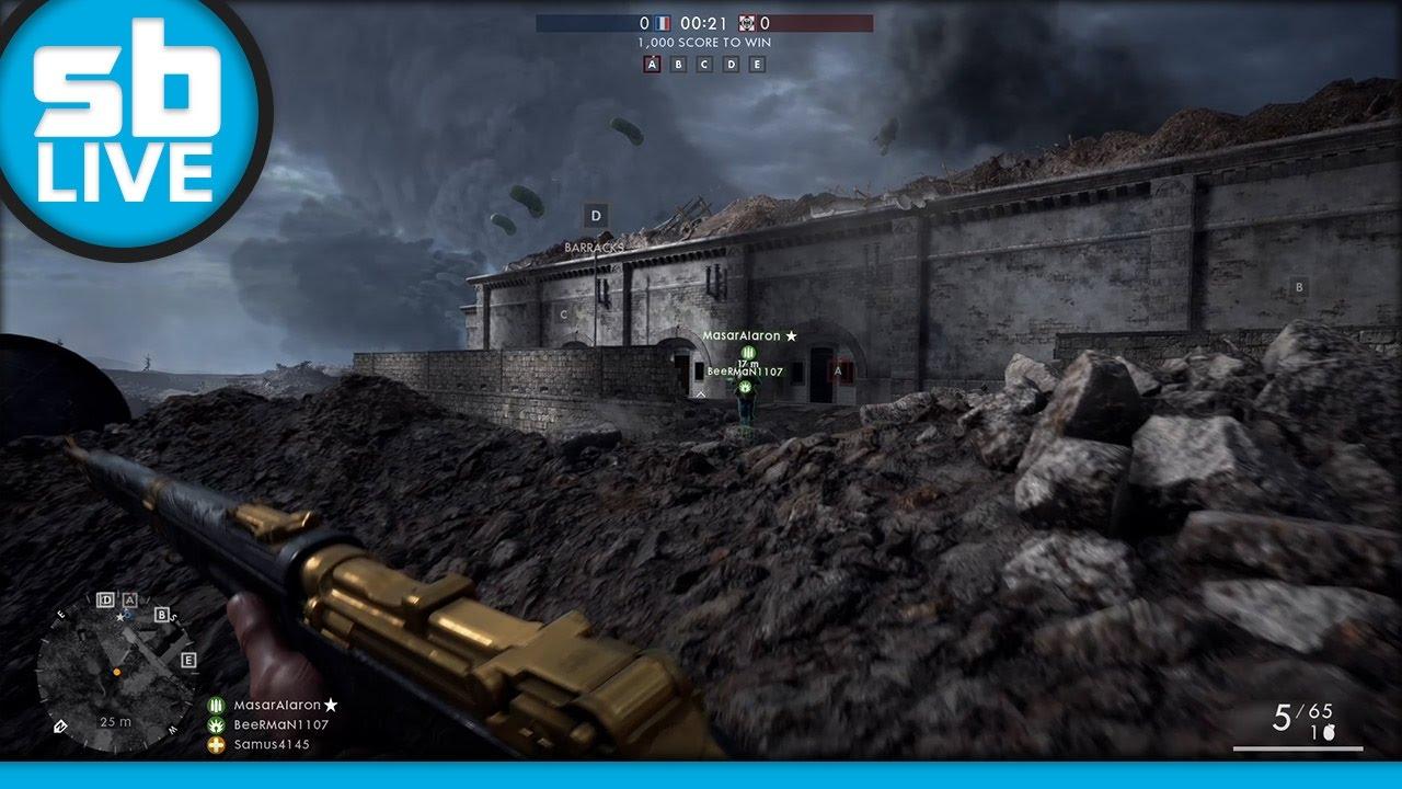 SB Live: Battlefield 1 03.30.17