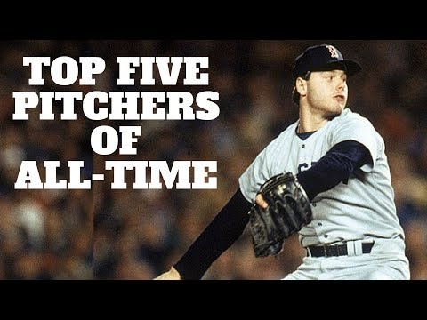 Top 5 Pitchers Of All-Time