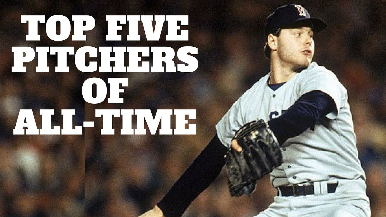 top 5 pitchers of all time youtube