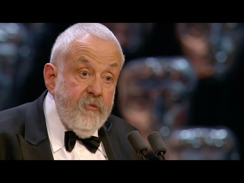 Mike Leigh is awarded The Fellowship BAFTA  The British Academy Film Awards 2015  BBC One