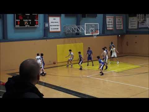 2018-Jan-30th JV Boys Basketball  ASIJ vs CAJ