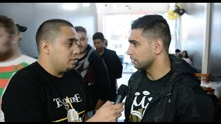 Amir Khan Criticizes Kell Brook over Rumors he gave up his title; Gives his New Years Resolution