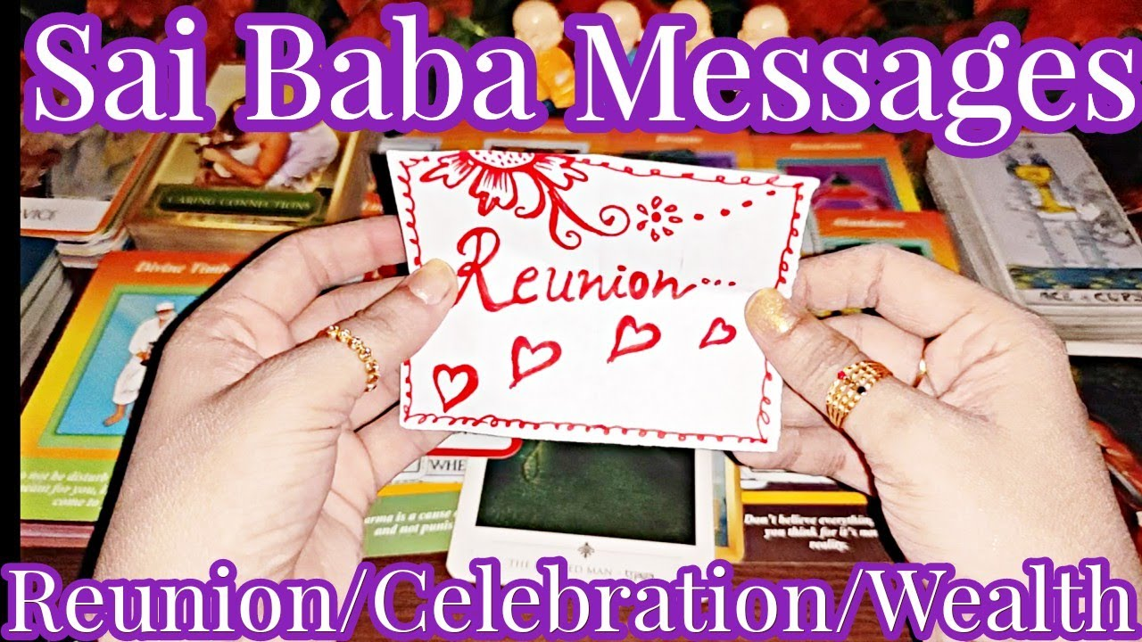 Apka Unse Milan Hone Wala Hai   Sai Baba Messages   Reunion Celebration - Timeless Tarot Reading 💃🕺💃