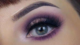 Chat Makeup: Romantyczny makijaż w fioletach- Models Own, Milani cosmetics