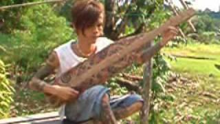 Sape Musical Instrument from Sarawak Borneo Malaysia