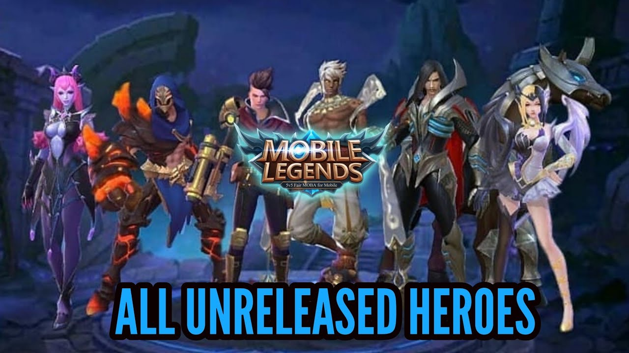 ALL ADVANCED SERVER UNRELEASED HEROES GAMEPLAY - MOBILE LEGENDS