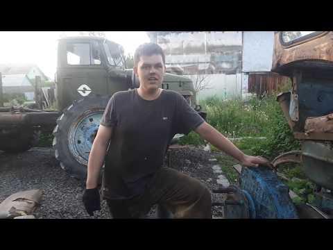 Ремонт полуоси с тормозным барабаном+бортовая Т-40АМ!!!
