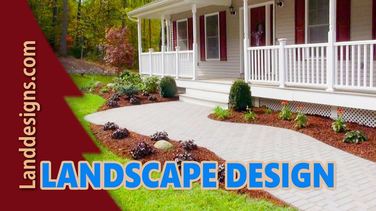 Front Yard Landscape Design Ideas - YouTube