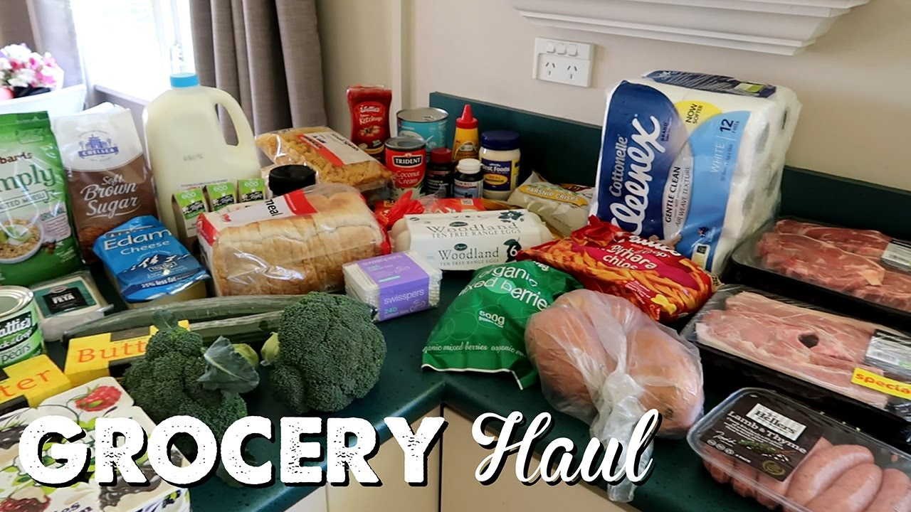 New Zealand Grocery Haul A Thousand Words YouTube