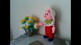 Порося Фунтик, 2 ч.. Piglet Funtik, р. 2. Amigurumi. Crochet. Амігурумі. Іграшки гачком.