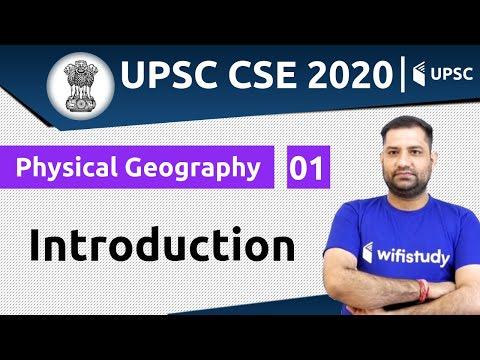 1:00 PM - UPSC CSE 2020 | Geography by Rajendra Sir