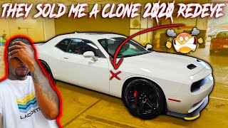 *WOW* DID THE DEALERSHIP REALLY JUST SELL ME A CLONE 2020 REDEYE CHALLENGER