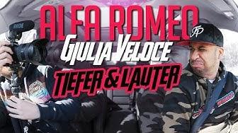 JP Performance - Alfa Romeo Giulia Veloce | Tiefer & Lauter