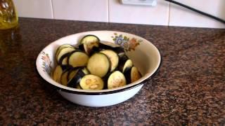 Баклажаны жареные Под чесночным соусом