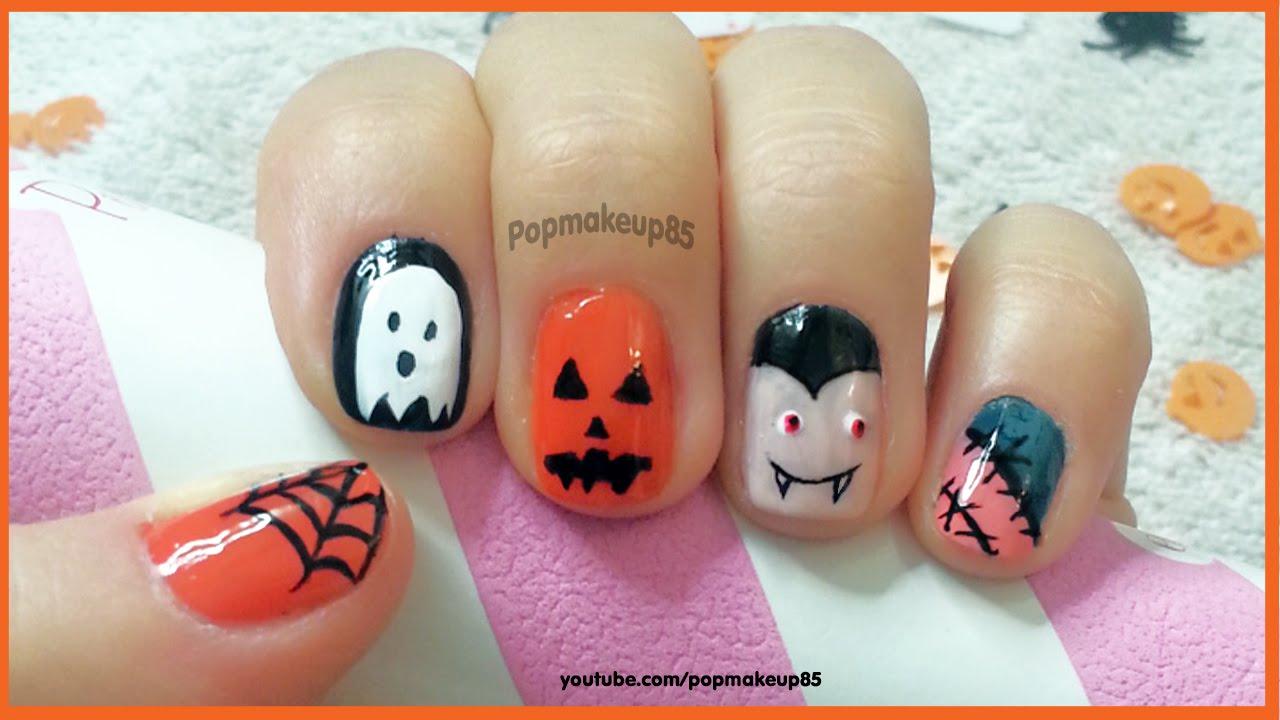 Nail Art Halloween Semplici abc2faeedd0d
