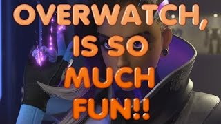 Overwatch Is So Much Fun, Sombra: Flawless Gameplay. Thanks For The Suggestion!