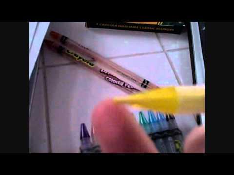 crayola twistable color pencil video review - Crayola Colored Pencils Twistables