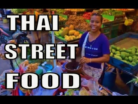 """Pattaya's Amazing street food"" night time Thailand"